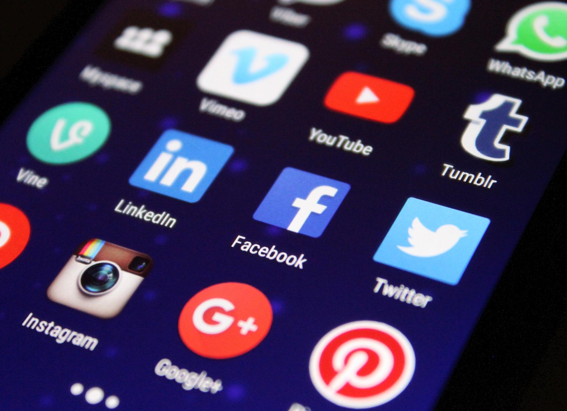 electronic print social media